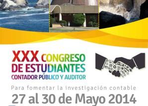 Con mucho éxito finalizó el Trigésimo Congreso Nacional de Estudiantes de Contador Publico y/o Auditores de Chile.